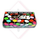 PUNTINE COLORATE MARRONE -- Codice: 19900 008