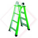 SCALA TELESCOPICA  MISTO ALL. Mt 5,0 -- Codice: 61330 050