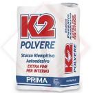 STUCCO RASANTE K2 IN POLVERE KG 20 -- Codice: 66760 025