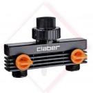 CLABER PRESA DUE VIE 3/4 M 8589 BL -- Codice: 80281 002