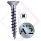 VITI X LEGNO TSP INOX A2  6.0X80 -- Codice: 05600 880