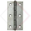 CERNIERE PIANE ACCIAIO INOX A2 MM 80 -- Codice: 10150 080