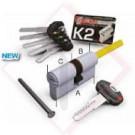 CILINDRI SECUREMME K2 CODOLO.C.S..30-50 -- Codice: 25552 580