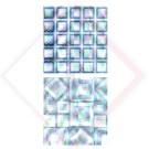 FOGLIA IN PLASTICA CRISTALL GOFFRA A99-8 -- Codice: 28530 031