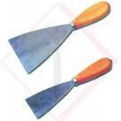 SPATOLE C/MANICO LEGNO MM 120 -- Codice: 42400 120