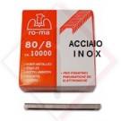 PUNTI X FISSATRICE RO-MA MEK INOX 80/10 -- Codice: 45107 010