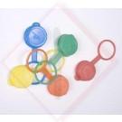 TAPPI PLASTICA X BOTTIGLIE CF. Pz.100 -- Codice: 62350 000